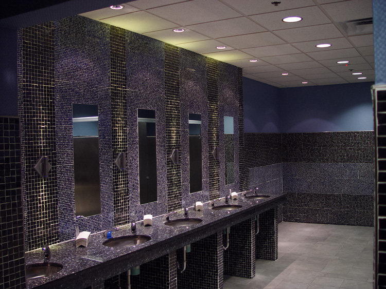 The Stables Casino Interior Restroom